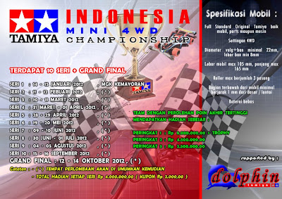 INDONESIA MINI 4WD CHAMPIONSHIP 2012, 10 SERI DAN GRANDFINAL