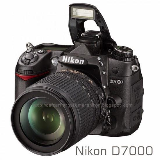 Harga Kamera DSLR Nikon D7000