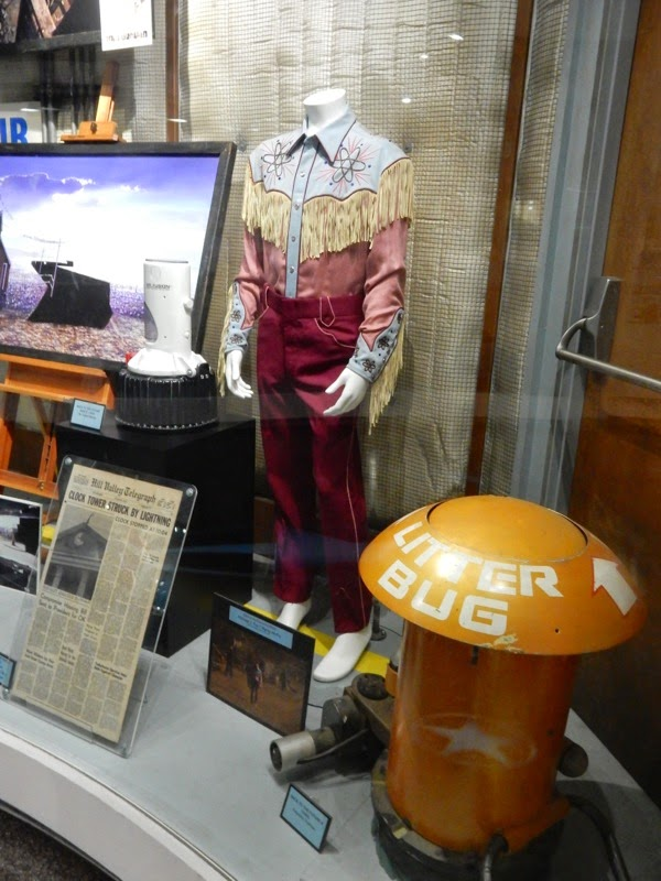 Back to the Future movie costume props