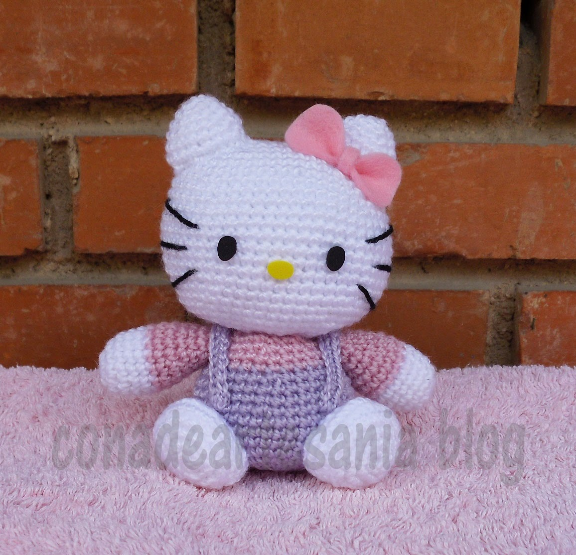 Kitty Bebe Amigurumi : con A de artesan?a: Hello Kitty amigurumi