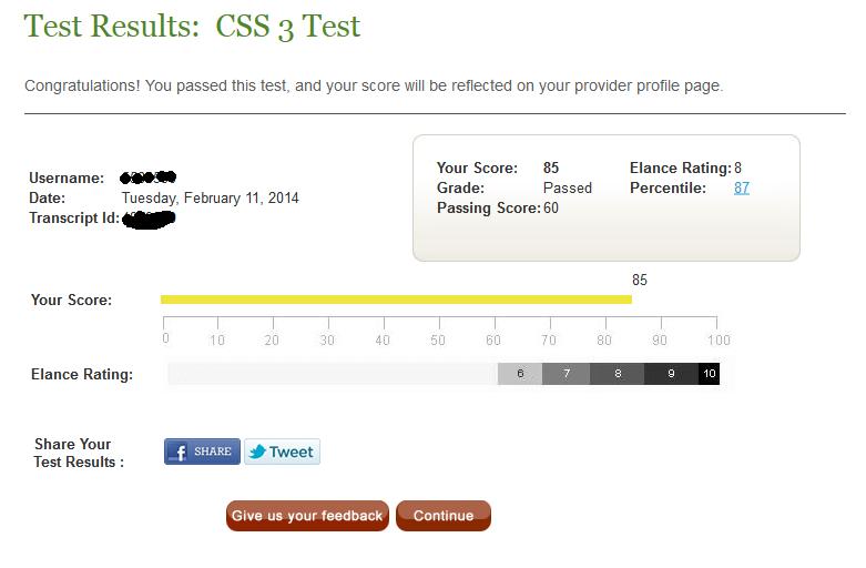 Elance css3 test answers