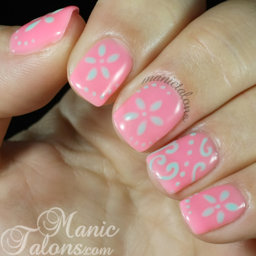 Nail Art with Bundle Monster Solar Changing Gel Polish in Shade