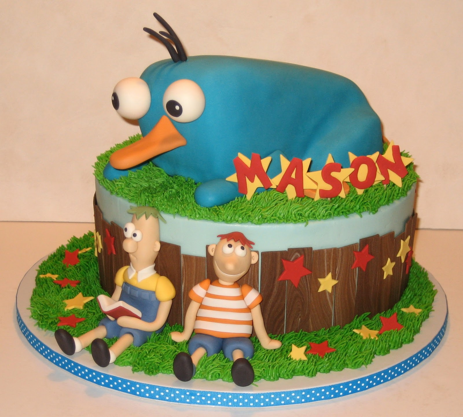 The Icing Cake Phineas And Ferb
