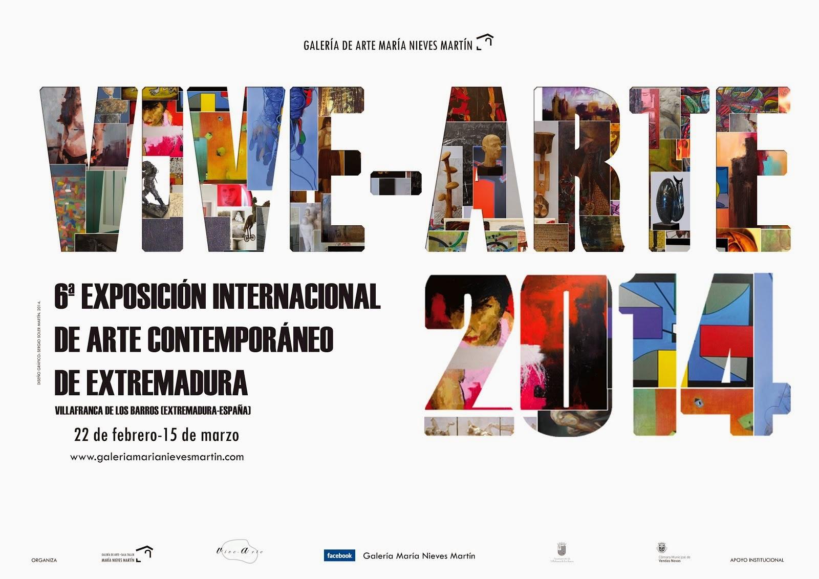 6ª Exposición Internacional de Arte Contemporáneo de Extremadura VIVE-ARTE 2014