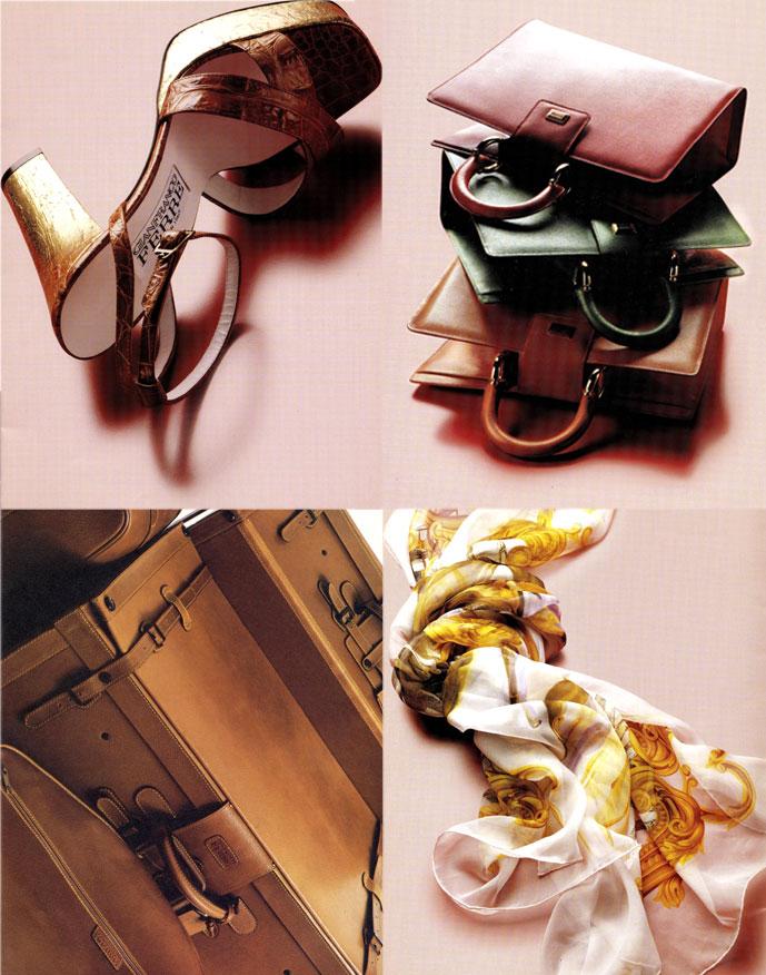 Gianfranco Ferre accessories 1979