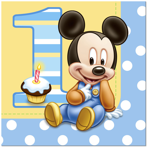 Disney primer cumpleaños para imprimir - Imagenes y dibujos para ...