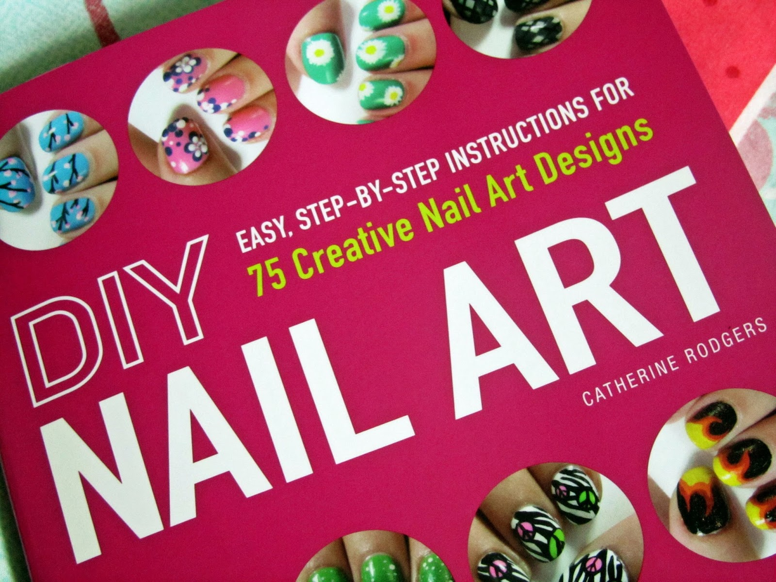 Diy Nail Art Book Review Polka Spots And Freckle Dots