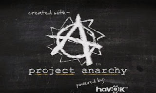 Screenshots of the Project Anarchy for Android tablet, phone.