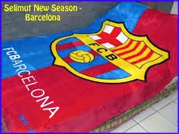 Jual Selimut New Seasons Blanket Fb Barcelona