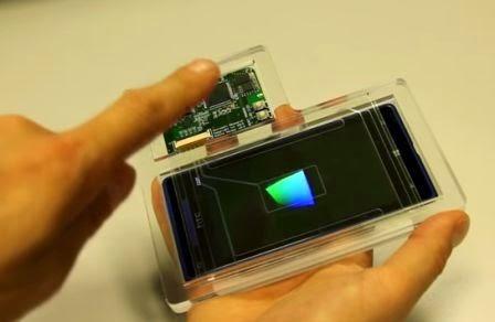 Microsoft menunjukan sensor gesture 3D berkerja pada smartphone