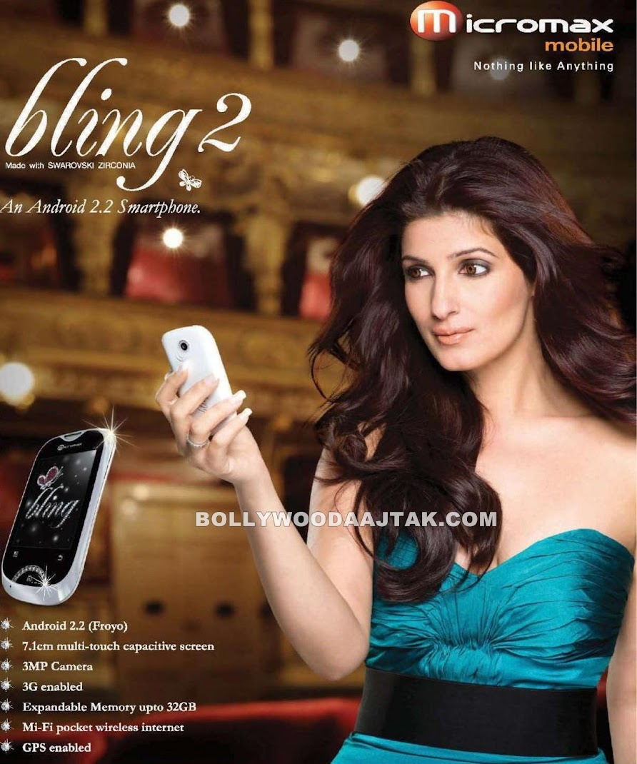 Twinkle Khanna Micromax Ad Hot Pics