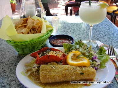 enchalada verde at Casa Guadalajara in San Diego, California