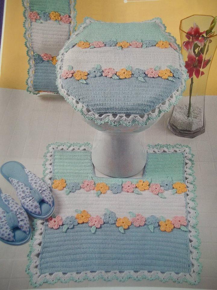 De tejido crochet y otras yerbas 24 alfombras para - Alfombras de dormitorio ...