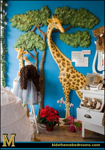 Jungle wall decoration : Decorating theme bedrooms maries manor jungle