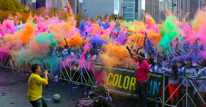 The Color Run Race
