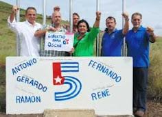 Los Cinco en Nicaragua, un abrazo de la solidaridad