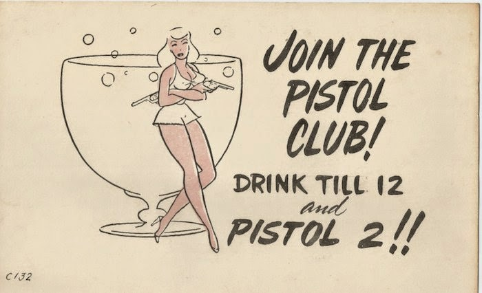 Pistol Club Komic Card