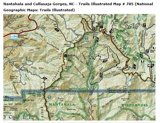 Planning GA Appalachian Trail ThruHike Adventures Of KilrDude - Trails illustrated maps