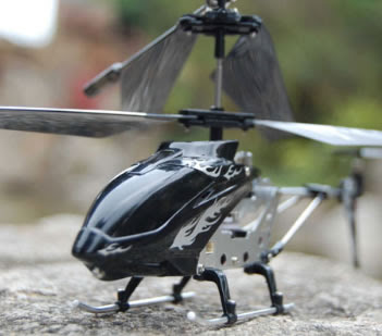 Black RC Firebird Mini RC Helicopter Picture