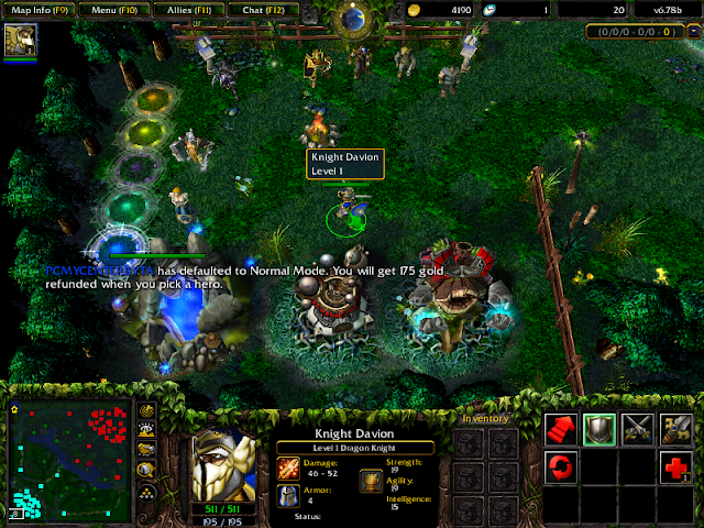 PC Warcraft IIIDOTATCG 103GBFULLONE2UP