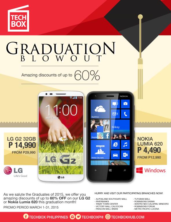 Techbox Graduation Blowout 2015