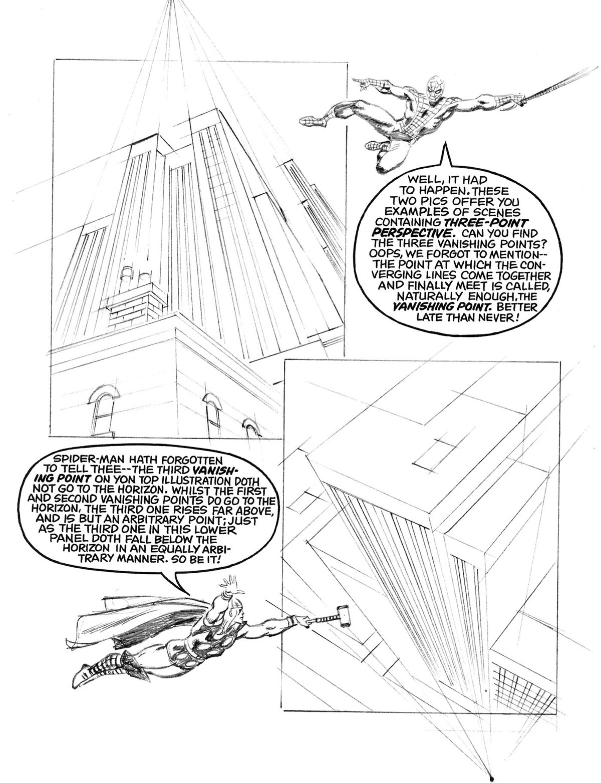 how to draw perspective pdf