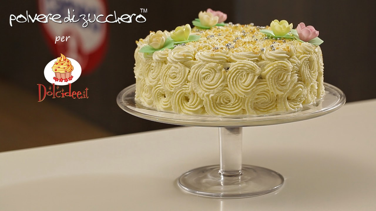 videoricetta cameo polvere di zucchero tutorial torta imperiale all'arancia mascarpone