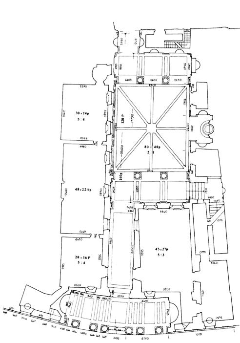L 39 architettura del quattrocento cinquecento e seicento for Disegno del piano di architettura
