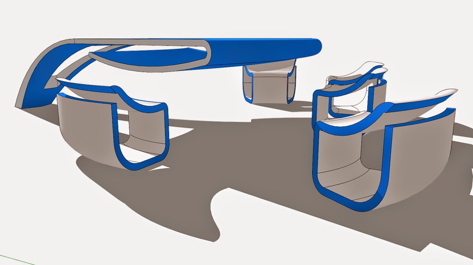 futuristic design my portfolio
