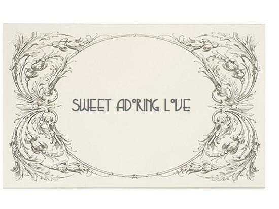 sweet adoring love