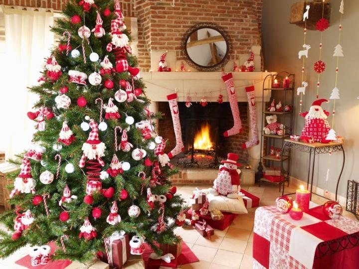 Tendencias en decoraci n para esta navidad decoguia tu - Adornos navidenos 2014 ...