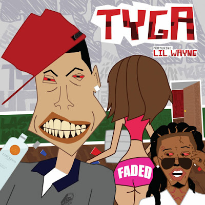 cover de faded de tyga con lil wayne de careless world