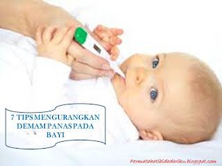 Ketahui beberapa tips untuk meredakan demam bayi