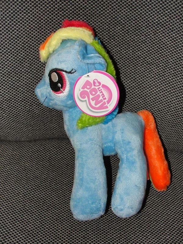 Rainbow Dash Play by Play Plush