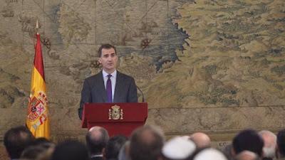 """El Rey a los judíos sefardíes: """"¡Cuánto os hemos echado de menos!"""""""