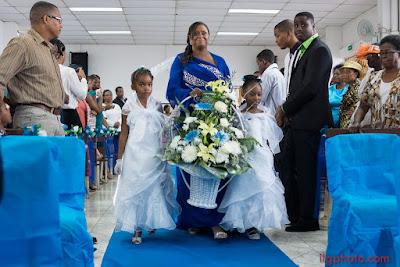 bouquer de fleurs mariage Guadeloupe