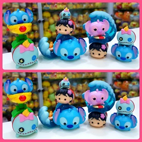 2016 Disney Tsum Tsum Stitch Lilo Angel Scrump Figure Collection