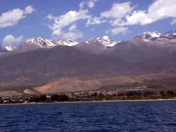 issyk kul, danau, pemandangan indah, pemandangan alam, lake malawi