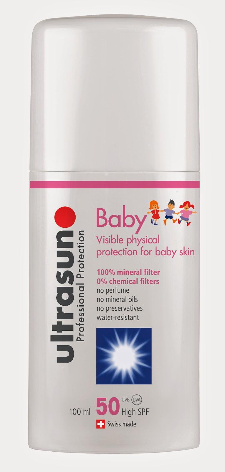 Ultrasun Sonnenmilch für Baby Runzelfüßchen