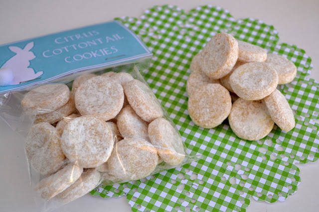 *Rook No. 17: recipes, crafts & whimsies for spreading joy*: Buttery Citrus Shortbread -- Cottontail Cookies