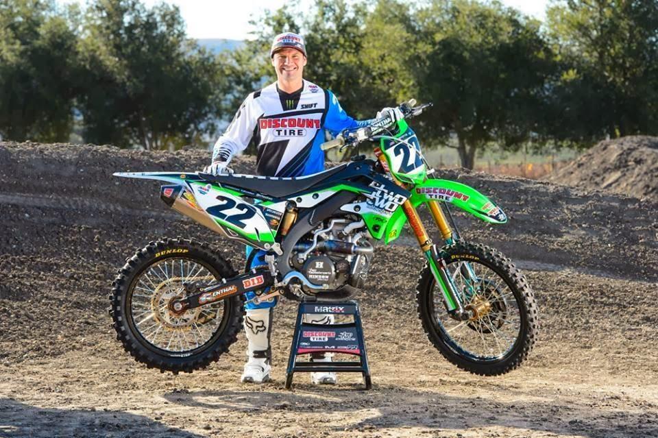 Chad Reed Yamaha Gear