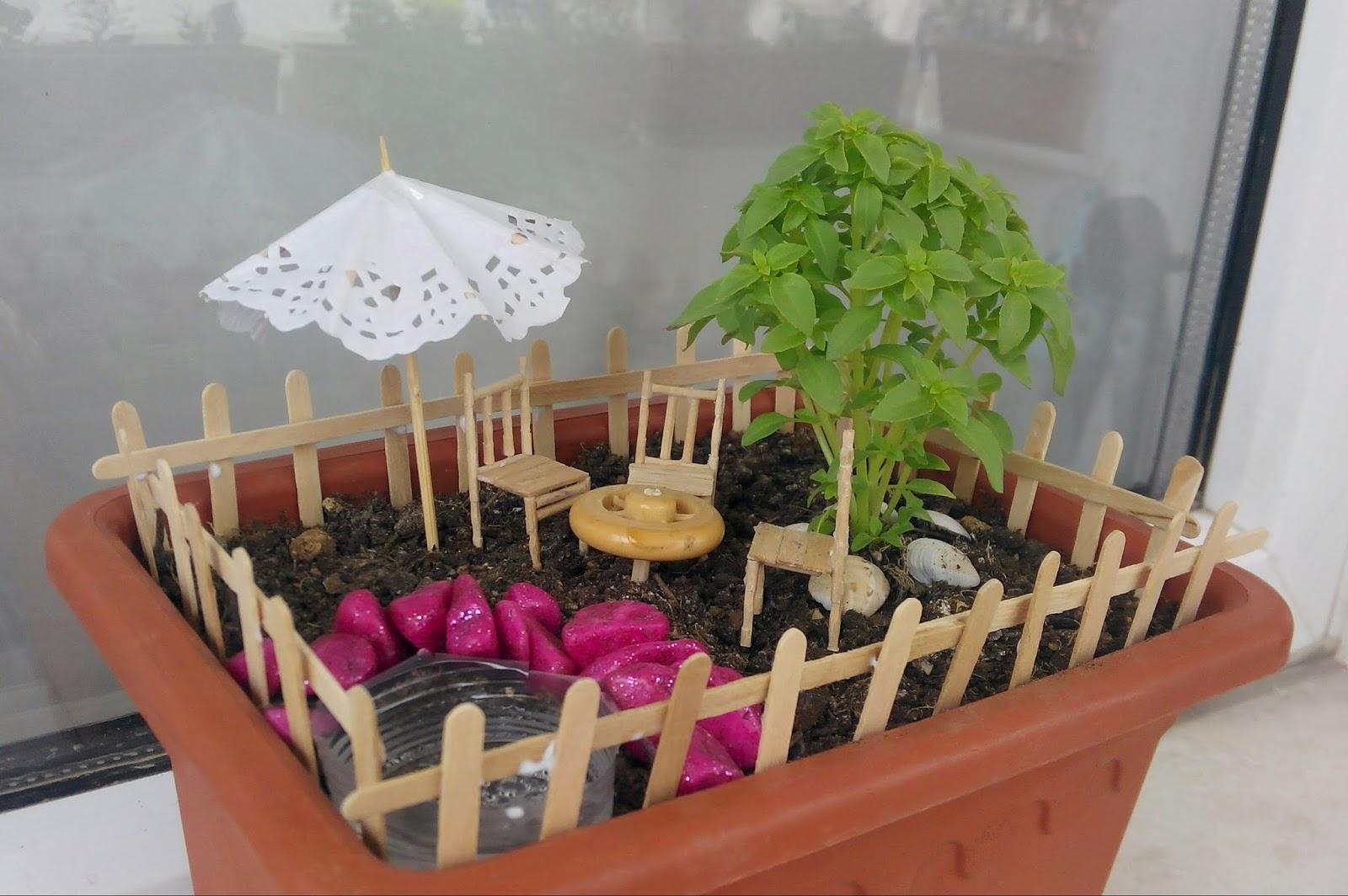 Ben Im Blogum Minyatür Bahçe