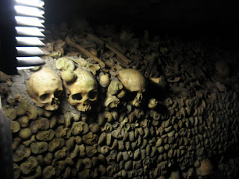 A wall of skulls &and bones