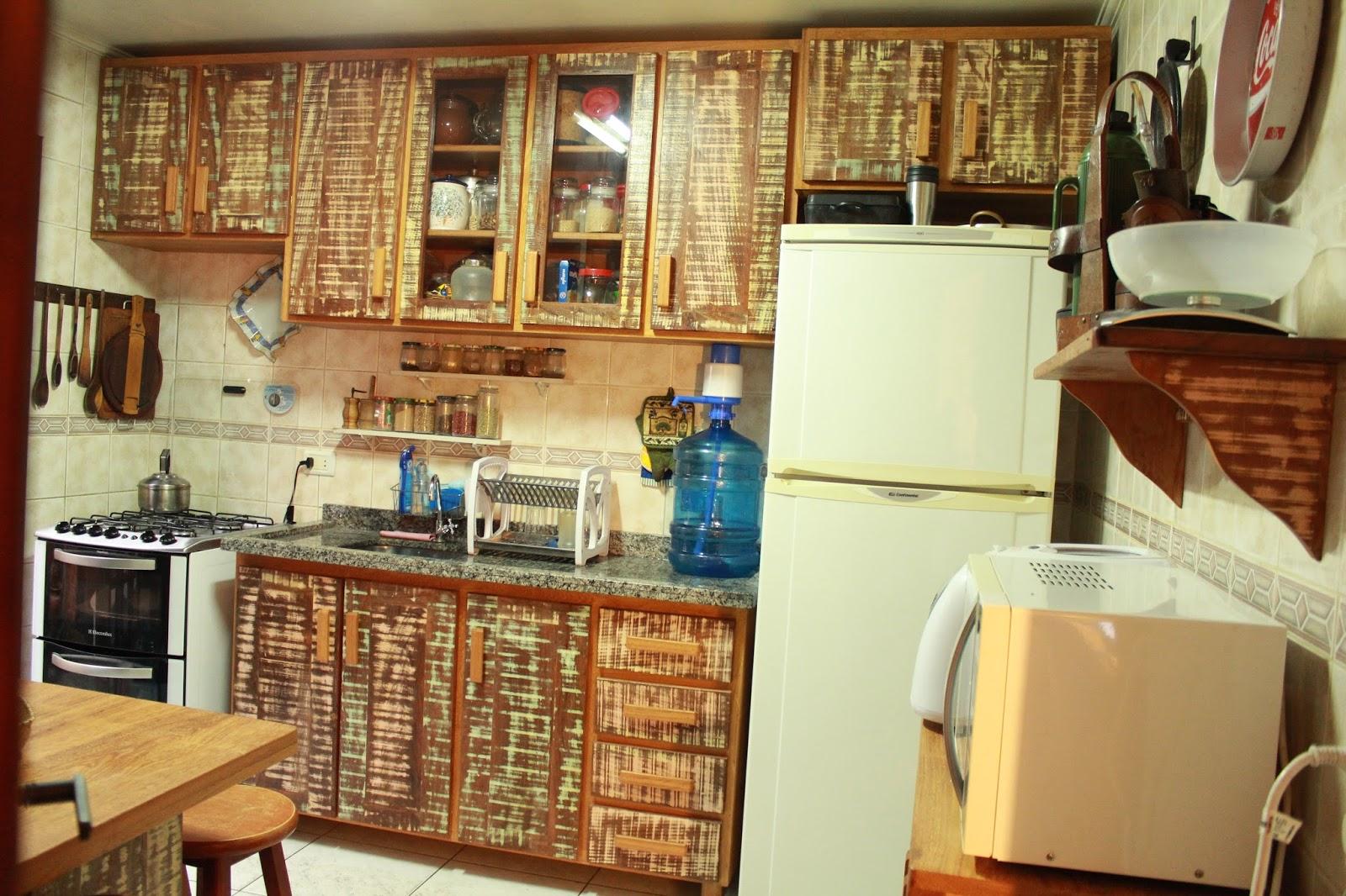 Rusmad Móveis e Decorações: Cozinha em madeira de demolição #714020 1600x1066
