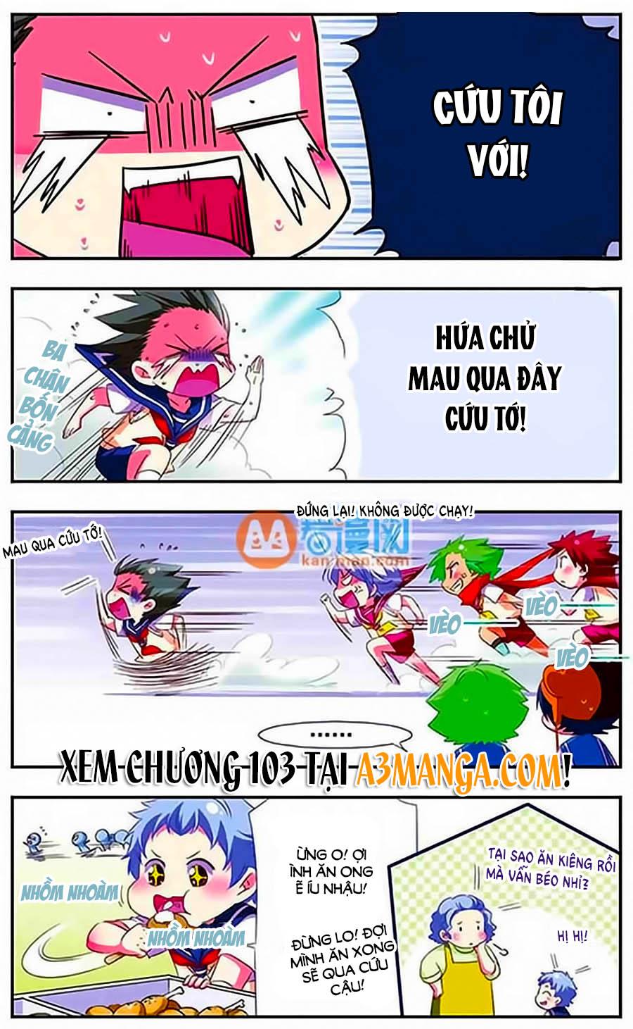 Manh Tam Quốc Chap 102 - Next Chap 103