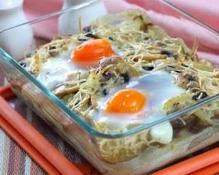 Resep Sayur Potato Mushroom