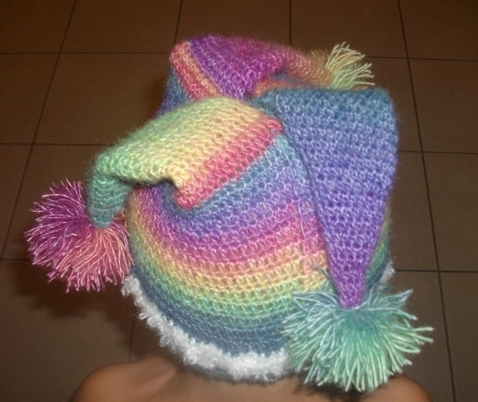 Knitting Pattern For Jester Wool : the crochet case: Court Jester
