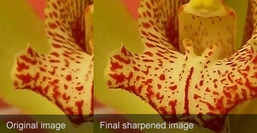 Controlled Image Sharpening