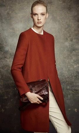 Massimo Dutti mujer otoño invierno abrigo lookbook pre fall