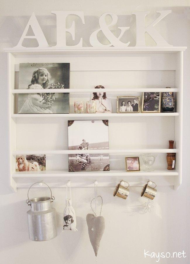 vicky 39 s home ideas para estantes de platos vintage ideas